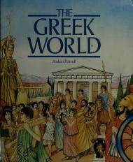 Cover of: The Greek world | Anton Powell